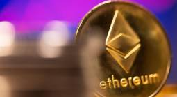 Cryptocurrency ether rose to a fresh record peak on Tuesday before dropping sharply as some investors pulled profits from a white-hot market bulging with questionable new entrants.
