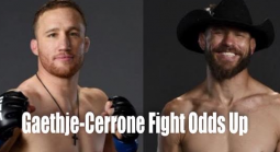 Donald Cerrone vs Justin Gaethje Fight Odds