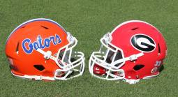 What is the Early Line on the Georgia vs. Florida Game October 30?