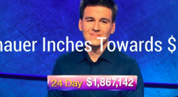 James Holzhauer Inches Towards the $2 Million Mark