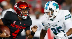Houston vs. Tulane Player Props: Total Receiving Yards, Receptions More