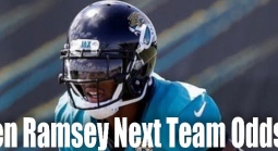 Odds for Jalen Ramsey Next Team