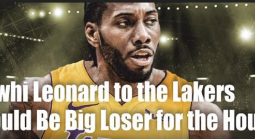 Bet Where Kawhi Leonard Goes - House Needs Him to Stay with Raptors