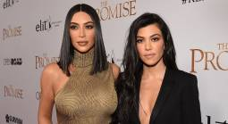 Odds on Kim and Kourtney Kardashian Fight as Two 'Go at it'