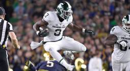 What is the Spread on the MSU vs. Northwestern Game - Week 4