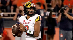 What is the Spread on the Iowa Hawkeyes vs. Maryland Terps Week 5 Game