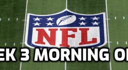 2020 NFL Week 3 Morning Odds, Betting Action