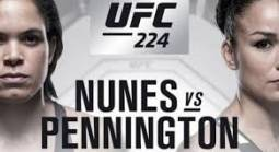 UFC 224 Betting Odds - Nunes vs. Pennington Fight Props, More