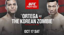 Ortega-Jung Fight Odds - UFC Fight Island