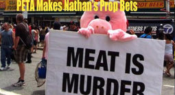 This Year's Nathan's Hot Dog Eating Contest Betting Includes PETA, Vomit and Trump Props