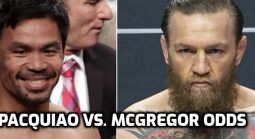 Pacquiao vs. McGregor Odds Up Now
