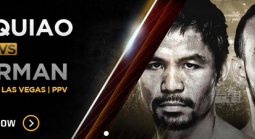 Where Can I Bet The Pacquiao Thurman Fight Online