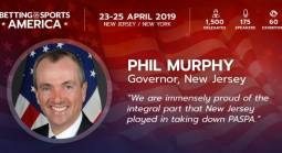 NJ Governor Murphy to Deliver Keynote Address at Betting on Sports America