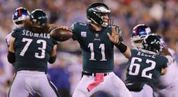 Bet the Philadelphia Eagles vs. Panthers Week 8 2018, Latest Odds