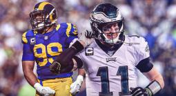 Rams-Eagles Bookie Line Analysis