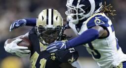 Line on the Rams-Saints NFC Championship Game