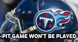 Titans-Steelers Game to be Played Later in the Season