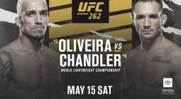 UFC 262 Betting Odds - Oliveira vs. Chandler