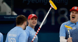 USA Stuns Sweden in Olympic Curling as 3-1 Dog