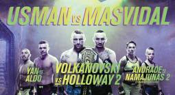 Where Can I Watch, Bet the Usman vs. Masvidal Fight UFC 251 From Minneapolis