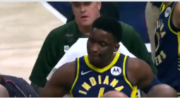 Bad News for Pacers Fans, Bettors: Victor Oladipo Carried Out on Stretcher