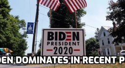 Biden Dominates in Latest Poll, Odds Stay Steady for Now