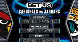 Find Player, Team Prop Bets on the Arizona Cardinals vs. Jacksonville Jaguars Game Week 3