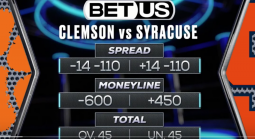 Free Pick on the Clemson-Syracuse Game