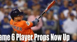 Washington Nationals @ Houston Astros Game 6 Player Prop Bets
