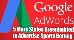 Google Adwords Now Allowed for Gambling in Five US States