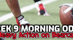 2020 Week 9 College Football Betting Action Report, Morning Odds
