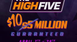 High Five Poker Tournament Prizes Doubled