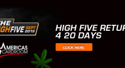 $5,000,000 High Five Tournament Series Returns 4 20 Days