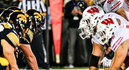 What is the Early Line on the Iowa vs. Wisconsin Game October 30?