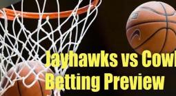 College Basketball Betting – Kansas Jayhawks at Oklahoma State Cowboys