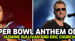 Super Bowl LV National Anthem Prop Bets; Eric Church and Jazmine Sullivan