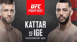 UFC Odds – UFC Fight Night: Kattar vs. Ige