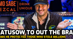 "Mouth to Out Hellmuth for ""Protecting People Who Steal Millions in Poker World"""