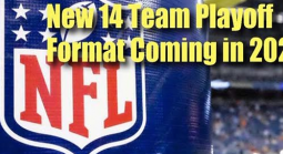 NFL Owners Agree to 14-Team Playoff Format This Coming Season