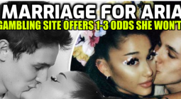 No Marriage for Ariana Grande in 2021 Say Oddsmakers