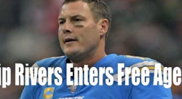 Where Will Philip Rivers End Up Next?  Odds Expected Shortly