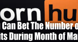 It's Come Down to Betting on Pornhub Visits