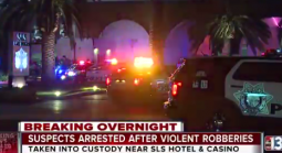 Men Who Robbed, Battered Family at Vegas Strip Casino Captured