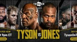 Where Can I Watch, Bet the Mike Tyson Vs. Jones Jr. Fight From Green Bay