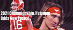 2021 College Football Championship and Heisman Odds Now Up
