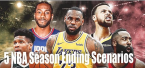 5 Ways the NBA Can Finish the 2020 Season