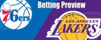 NBA Betting – Los Angeles Lakers at Philadelphia 76ers 2020