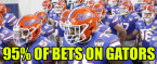 Everyone is Down on the Gators at a 95% Clip