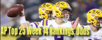 Week 14 College Football Poker Rankings - Latest Odds to Win Championship