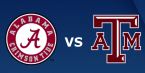 CFB Betting – Texas AM Aggies at Alabama Crimson Tide